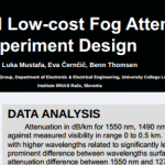 FSO Artificial Low-cost Fog Attenuation Experiment Design
